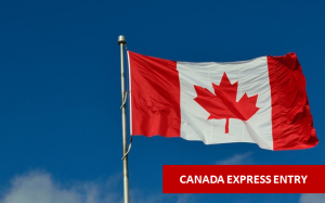 Express Entry Immigration-Canadian Flag